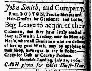 Aug 4 - 8:4:1769 New-London Gazette