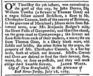 Aug 7 - Pennsylvania Chronicle Slavery 4
