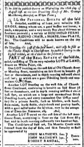 Aug 7 - South-Carolina and American General Gazette Slavery 7