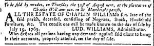 Aug 9 - Georgia Gazette Slavery 3