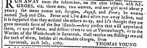 Aug 9 - Georgia Gazette Slavery 6