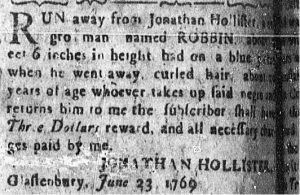 Jul 10 - Connecticut Courant Slavery 1