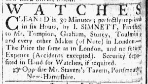 Jul 11 - 7:11:1769 Essex Gazette