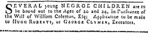 Jul 13 - Pennsylvania Gazette Slavery 3