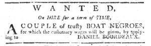 Jul 13 - South-Carolina Gazette Slavery 2