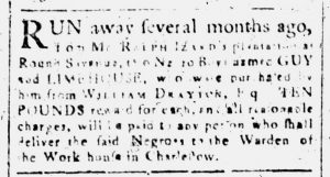 Jul 17 - South-Carolina and American General Gazette Slavery 4