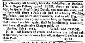 Jul 20 - New-York Journal Supplement Slavery 1