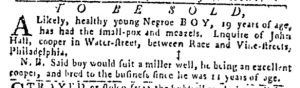 Jul 20 - Pennsylvania Gazette Slavery 3