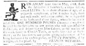 Jul 20 - South-Carolina Gazette Slavery 2