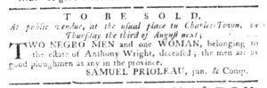 Jul 20 - South-Carolina Gazette Slavery 6