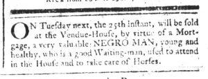 Jul 20 - South-Carolina and American General Gazette Slavery 4