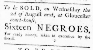 Jul 20 - Virginia Gazette Rind Slavery 2