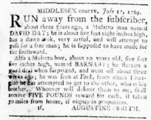 Jul 20 - Virginia Gazette Rind Slavery 3