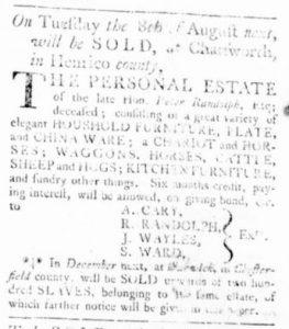 Jul 20 - Virginia Gazette Rind Slavery 4