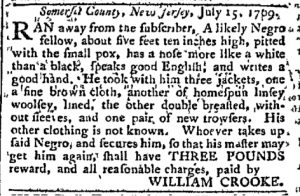 Jul 24 - Pennsylvania Chronicle Slavery 1