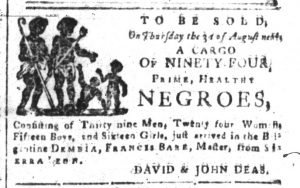 Jul 24 - South-Carolina and American General Gazette Slavery 2
