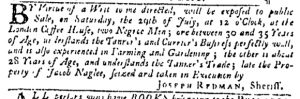 Jul 27 - Pennsylvania Gazette Slavery 2