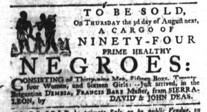 Jul 27 - South-Carolina Gazette Slavery 1