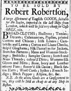 Jul 28 - 7:28:1769 New-Hampshire Gazette