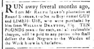 Jul 31 - South-Carolina and American General Gazette Slavery 4