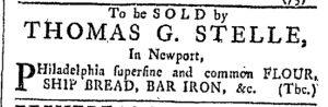 Aug 12 - 8:12:1769 Providence Gazette