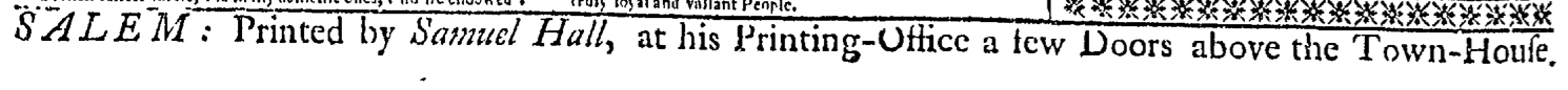 Aug 15 - 8:15:1769 Essex Gazette