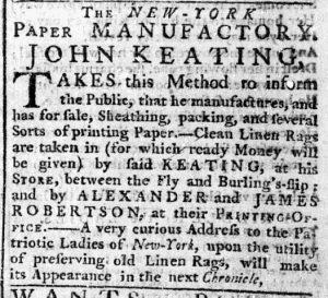 Aug 20 - 8:17:1769 New-York Chronicle