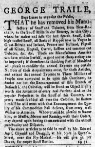 Aug 21 - 8:21:1769 New-York Gazette Weekly Mercury