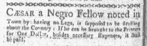 Aug 21 - Boston-Gazette Slavery 1