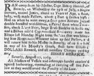 Aug 21 - Boston-Gazette Slavery 2