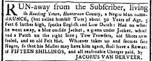 Aug 21 - New-York Gazette or Weekly Post-Boy Slavery 2