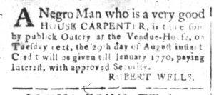 Aug 23 - South-Carolina and American General Gazette Slavery 2