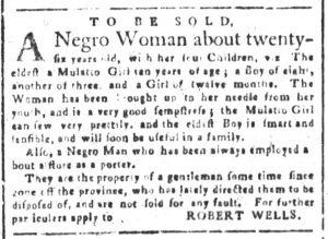 Aug 23 - South-Carolina and American General Gazette Slavery 3