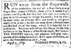 Aug 23 - South-Carolina and American General Gazette Slavery 4