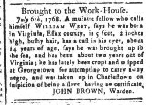 Aug 23 - South-Carolina and American General Gazette Slavery 8
