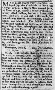 Aug 24 - New-York Chronicle Slavery 1