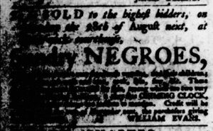 Aug 24 - Virginia Gazette Purdie and Dixon Slavery 7