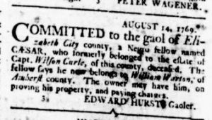 Aug 24 - Virginia Gazette Rind Slavery 5