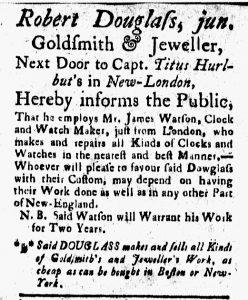 Aug 25 - 8:25:1769 New-London Gazette