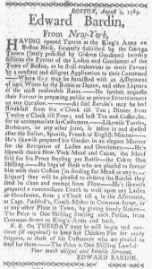 Aug 28 - 8:28:1769 Boston-Gazette
