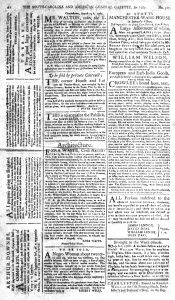 Aug 30 - 8:30:1769 South-Carolina and American General Gazette