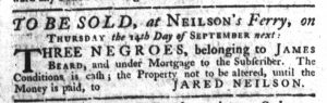 Aug 31 - South-Carolina Gazette Slavery 2