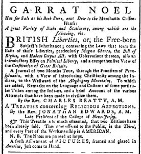 Sep 11 - 9:11:1769 New-York Gazette or Weekly Post-Boy