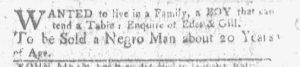 Sep 11 - Boston-Gazette Slavery 2