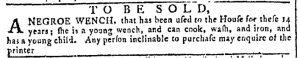 Sep 13 - Georgia Gazette Slavery 1