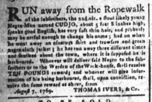 Sep 13 - South-Carolina and American General Gazette Slavery 2