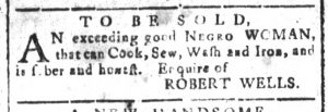 Sep 13 - South-Carolina and American General Gazette Slavery 6