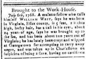 Sep 13 - South-Carolina and American General Gazette Slavery 7