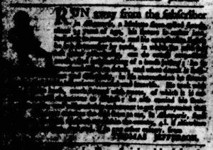 Sep 14 - Virginia Gazette Purdie and Dixon Slavery 1