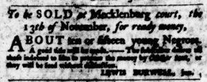Sep 14 - Virginia Gazette Purdie and Dixon Slavery 2